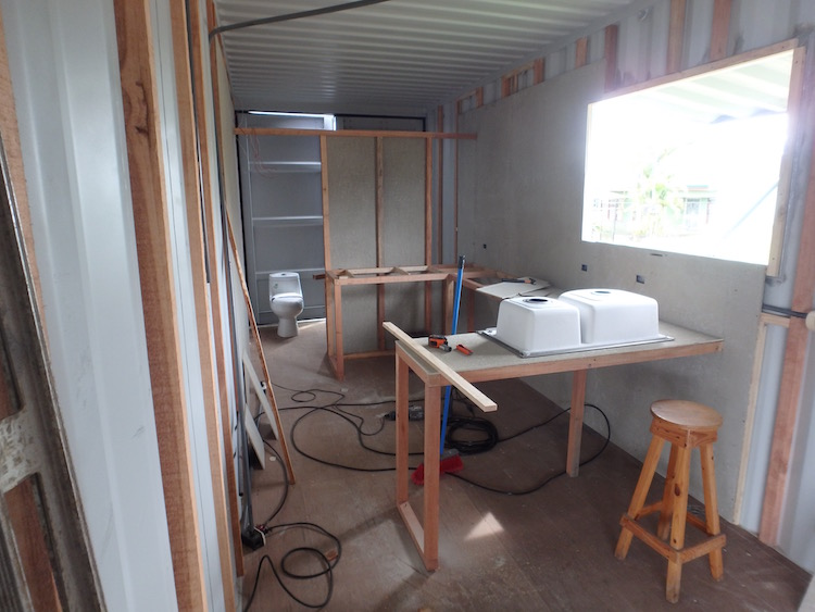 My Container Home Is Almost Ready To Live In