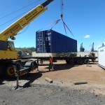Unloading & Transporting Shipping Containers Costa Rica