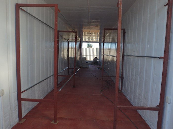 Emergency Shelter Container Homes Being Built In Costa