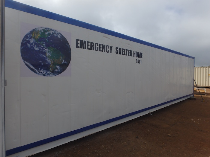 Emergency Shelter Container Homes Being Built In Costa Rica Containerhomes Net Blog Site